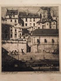 Charles Meryon: La morgue.