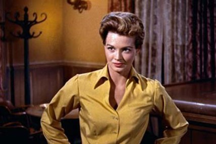 """Gambler: Angie Dickinson as """"Feathers"""" in Rio Bravo (1959)"""