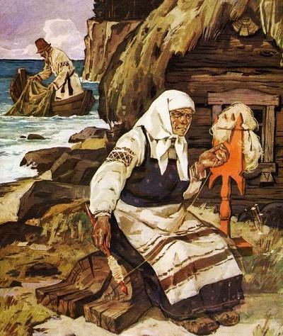 Сказка о рыбаке и рыбке (А.С. Пушкин)