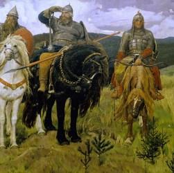 Васнецов: Три богатыря