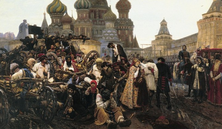 Суриков: Утро стрелецкой казни. 1881