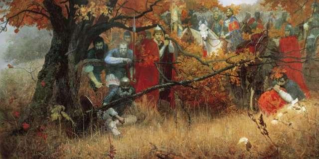 М. Шаньков. «Засадный полк». 1991