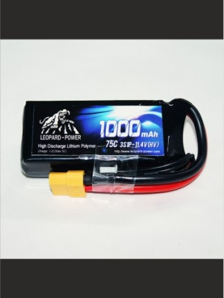 1000mAh-75C-3S-11.4HV-Leopard-Power