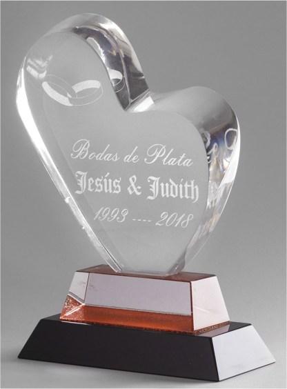 1314-Cristal-Economico-Trofeo-Placa-Reconocimiento-Homenaje