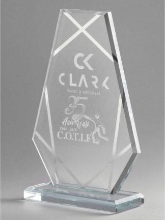 1344-Cristal-Economico-Trofeo-Placa-Reconocimiento-Homenaje