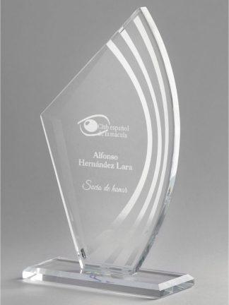 1345-Cristal-Economico-Trofeo-Placa-Reconocimiento-Homenaje