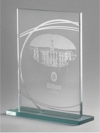 1347-Cristal-Economico-Trofeo-Placa-Reconocimiento-Homenaje