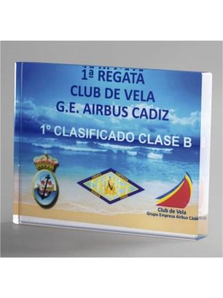 1352-Cristal-Economico-Trofeo-Placa-Reconocimiento-Homenaje