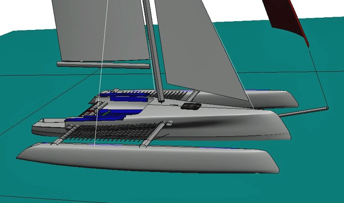 trikala singles The mast could also be rotated for rapid furling of the single sail of long-time trimaran designer jim performance and the trikala looks.