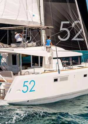 Multihulls Charter Catamarans Nauti by Nature BFC Lagoon 52
