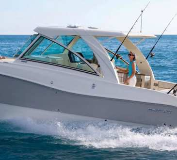 World Cat 320DC Boat Test
