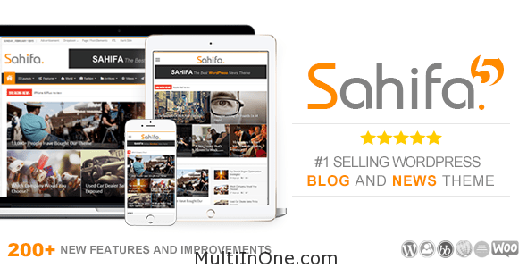 Sahifa - Responsive WordPress News, Magazine, Blog Theme(Latest)(Free Download)