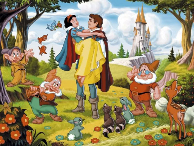 Image result for Snow White and the Seven Dwarfs prince