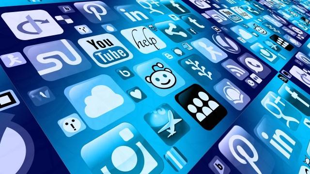 Social media loga