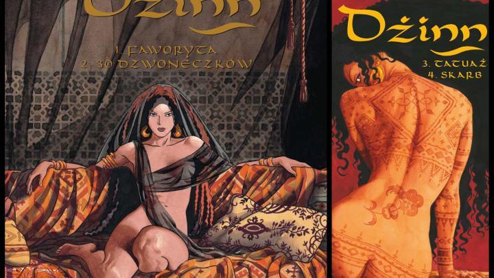 Dżinn: od Faworyty do Skarbu recenzja komiksu
