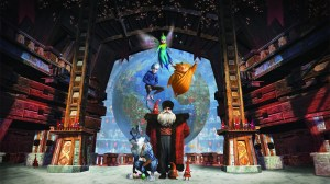 Rise of Guardians Santa and Globe picture
