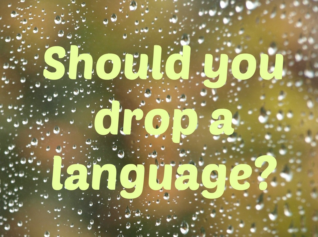 Bilingual parents – what to do when you are told to drop one of your languages?