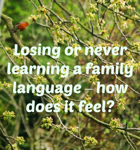 Losing or never learning a family language – how does it feel?