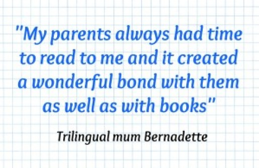 Multilingual Family Bernadette Quote