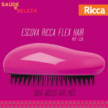 ARTE SB - DESEMBARACE - Escova Ricca Flex Hair