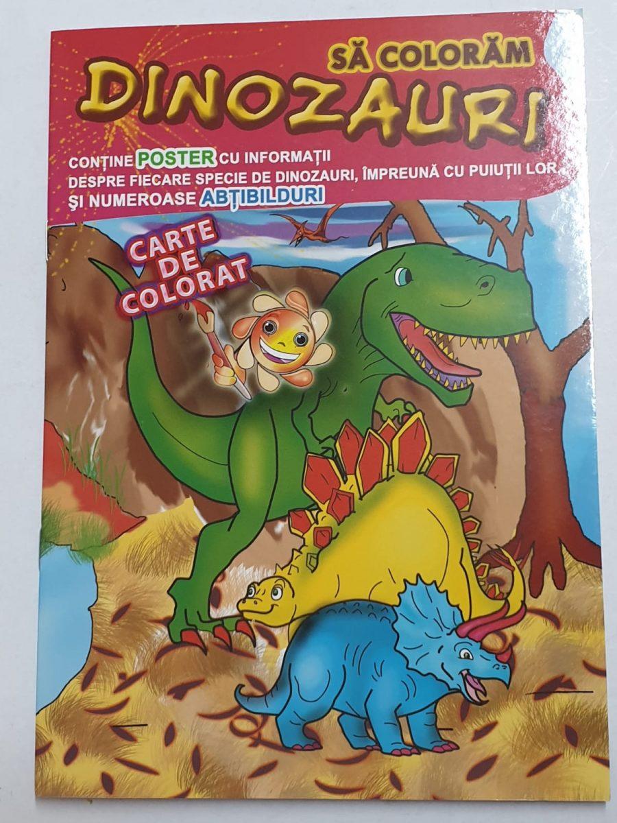 Omnibooks Carte De Colorat Cu Poster