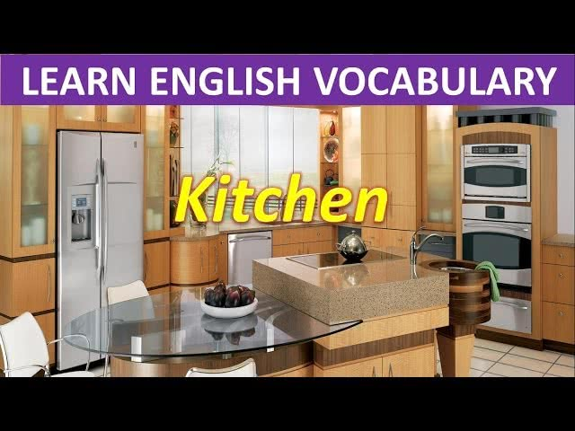 Things you can find in the kitchen American version