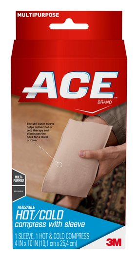 ace brand hot cold compress with sleeve