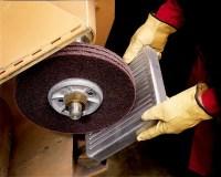 Scotch-Brite High Strength Disc, 6 in x 1/2 in A MED, 10 ...