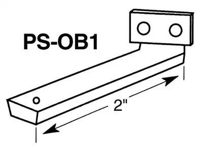 3M Singapore: Products: 3M™ PanelSafe™ Offset Bracket PS