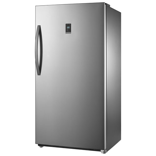 Insignia 17 Cu Ft Frost Free Upright Convertible Freezer Fridge Ns Uz17ss0 Stainless Only At Best Buy Best Buy Canada