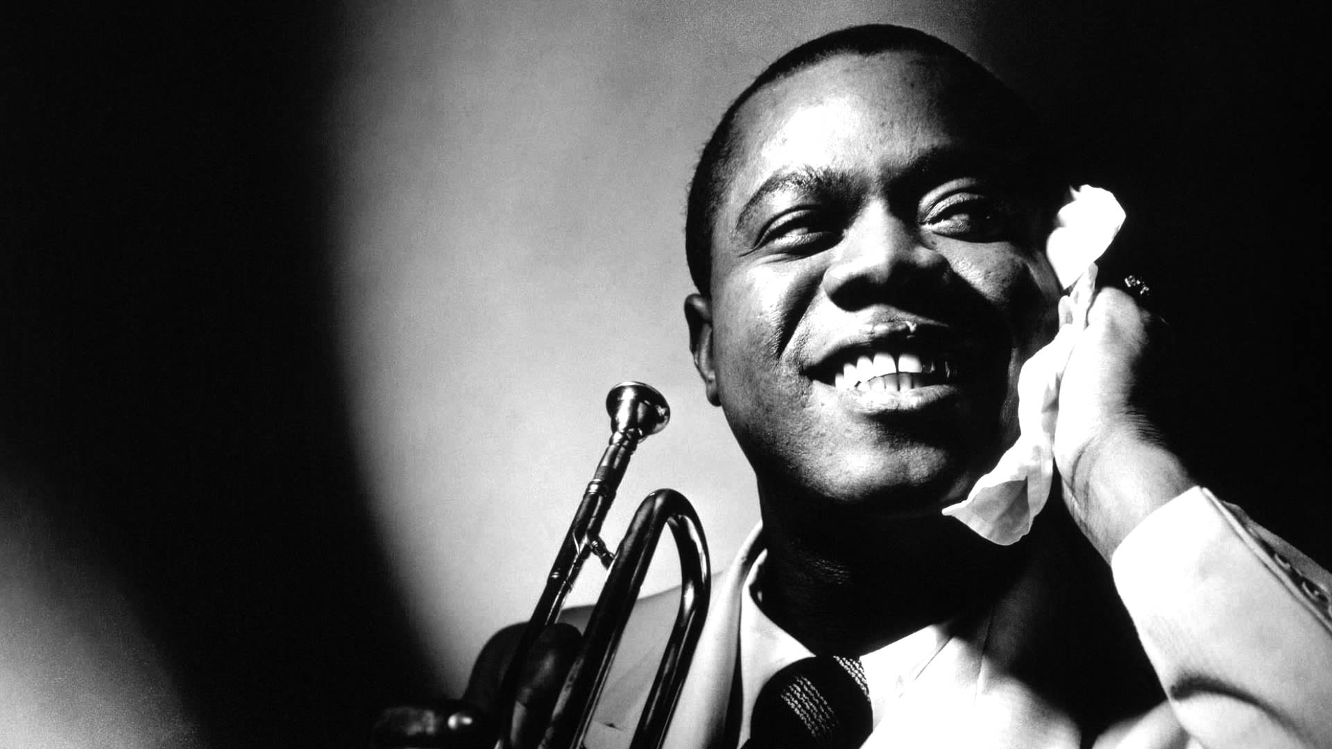 COLOURFUL Louis Armstrong