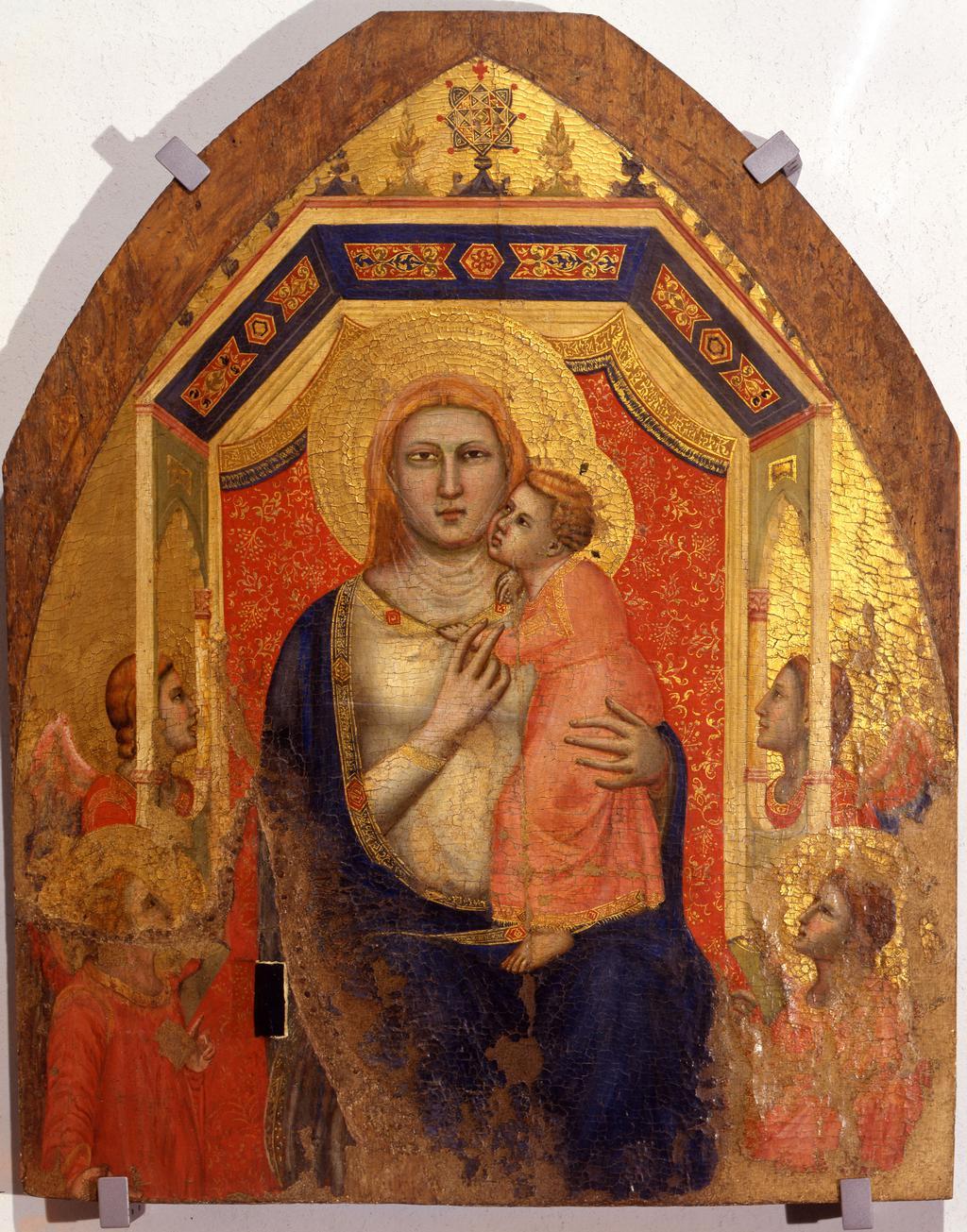 Madonna col Bambino e angeli