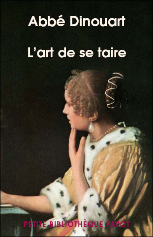 L'art de se taire, abbé Dinouart