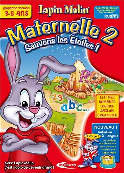 Lapin Malin - Maternelle 2 jeux complet en français