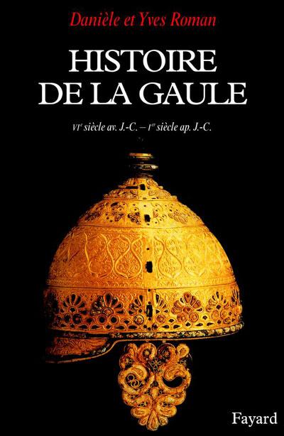 Couverture de l'Histoire de la Gaule de D. et Y. Roman