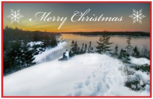 susies lake christmas cards halifax