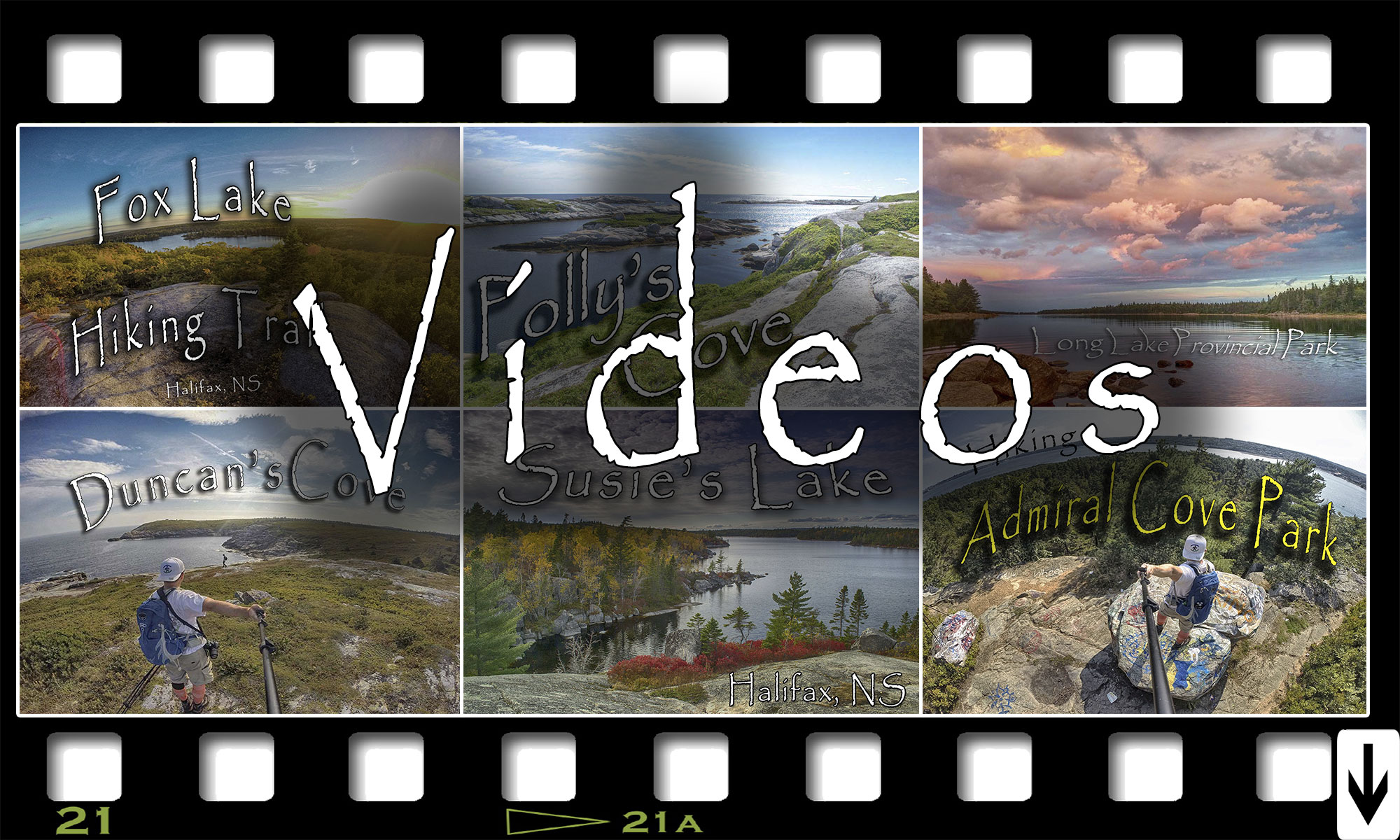 Hiking Biking and Paddling Videos From Halifax, Nova Scotia