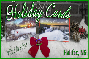Halifax, Nova Scotia Holiday Christmas Cards