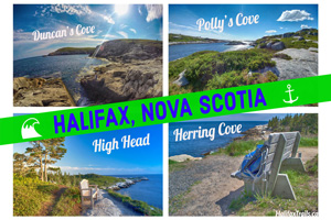 Halifax, Nova Scotia Postcards