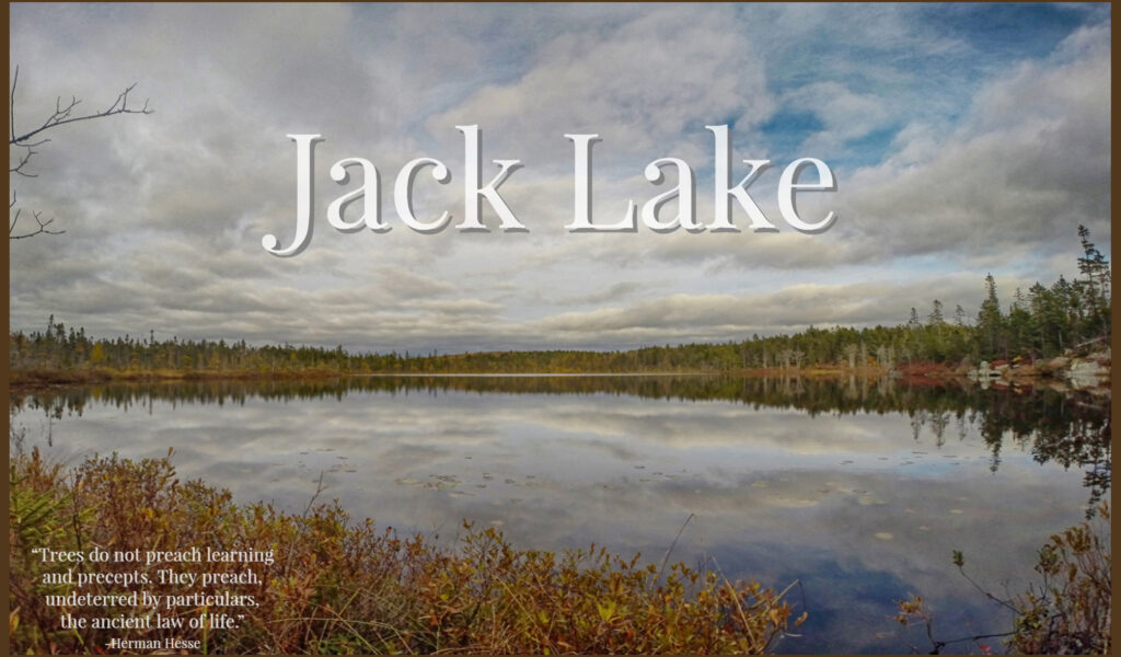 Jack Lake Hiking Trail Photos