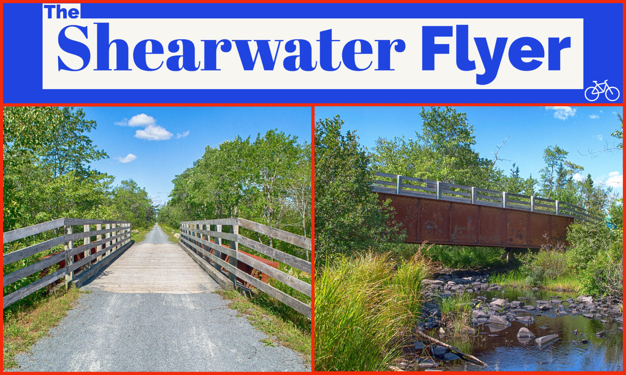The Shearwater Flyer Trail