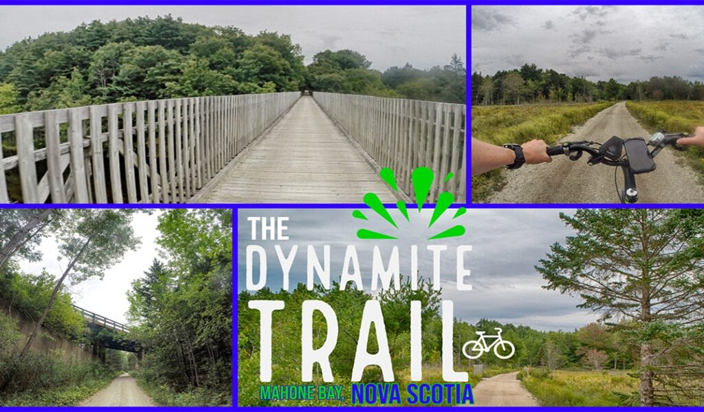 The Dynamite Trail in Mahone Bay, Nova Scotia