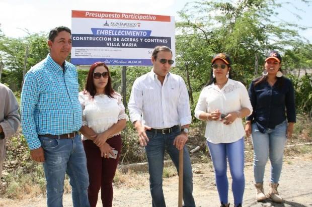 » Presupuesto Participativo llega a otras tres comunidades beneficiadas con obras gestión de Abel Martínez