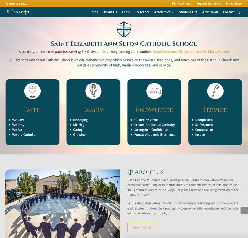 St. Elizabeth Ann Seton Catholic School Elk Grove