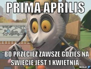 Prima Aprilis 2020
