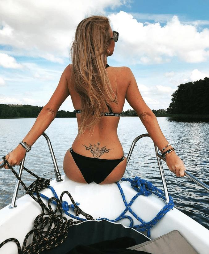 Magda Lichota love island