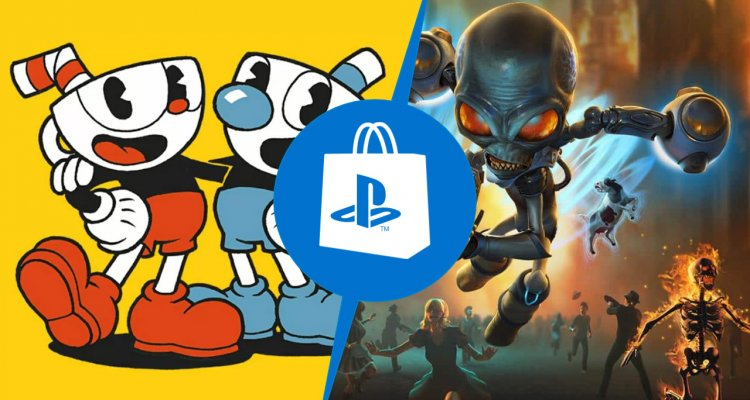 PlayStation Store: Cuphead e Destroy All Humans!