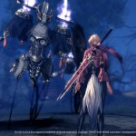 Female Blade Master and a spectral enemy (Blade & Soul, NCSoft)