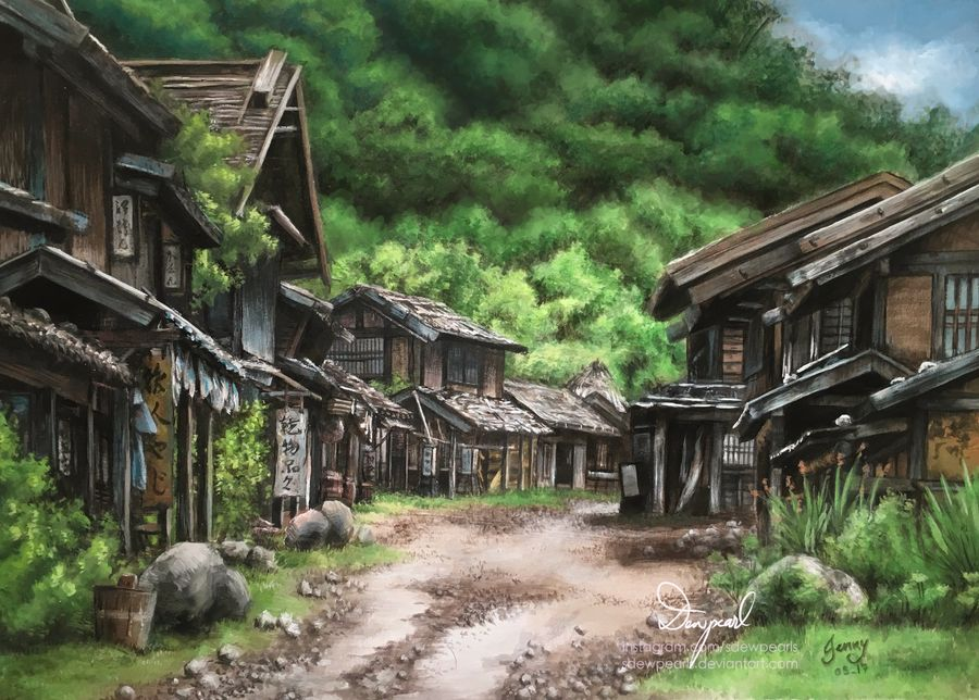 old_japanese_village_by_sdewpearls_dbzk34x-fullview