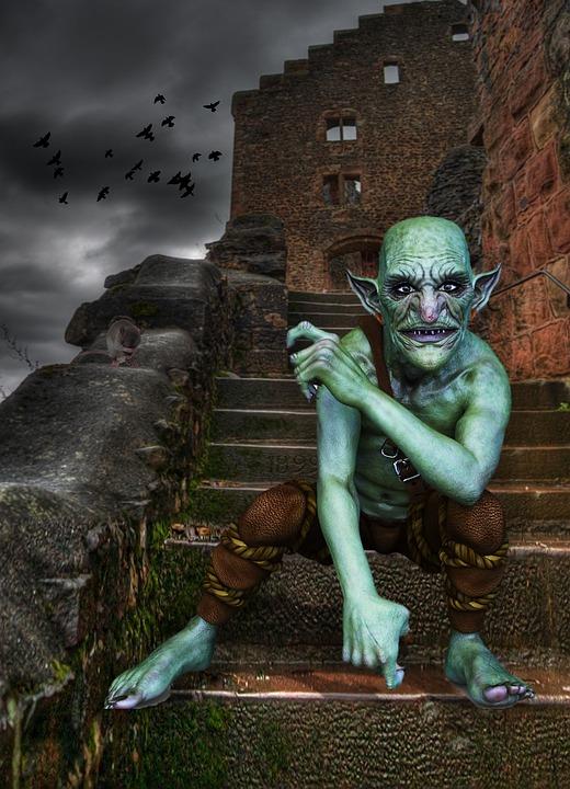 skulking goblin